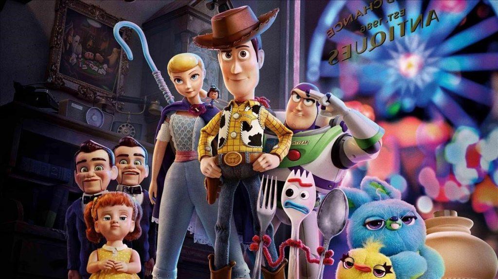 Toy Story 4 - Portada