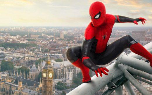 Spiderman-Lejos de Casa - Portada