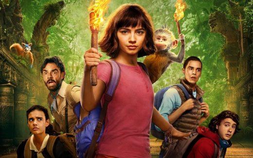 Dora y La Ciudad Perdida - portada