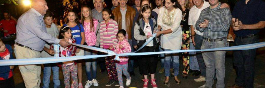 Inauguración Barrio Petroleros