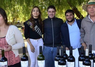 Pasó la sexta edición de vinos de Medrano en Medrano.
