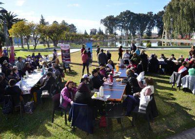 Actividad conmemorativa por el Adulto mayor en Rivadavia.