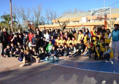 Encuentro de Balonmano en Rivadavia.
