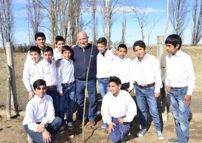 """Acto por el """"Día del Árbol"""" en Rivadavia."""