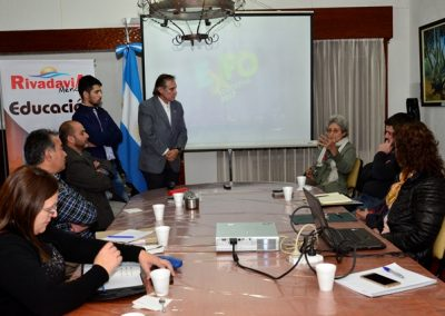 La Expo Educativa en Rivadavia.