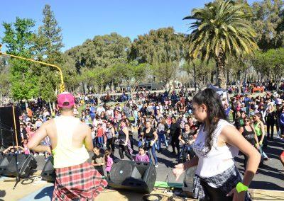"""Rivadavia comenzó a vivir """"La Primavera"""" y festejó el """"Día del Estudiante""""."""