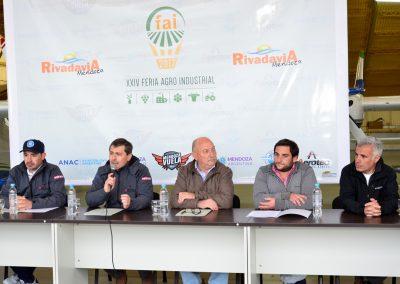Se presentó la XXIV Edición de la Feria Agro Industrial de Rivadavia.