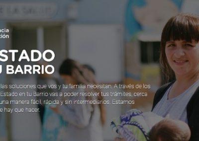 """El """"Estado en Tu Barrio"""" estará en la Plaza departamental de Rivadavia."""