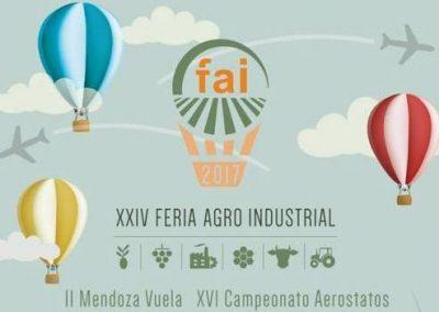 Información y venta de entradas para Feria Agro Industrial 2017.