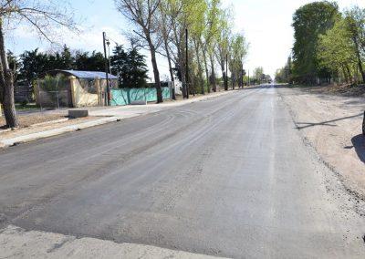 Importante mejora de rutas en el ingreso y egreso a Rivadavia.
