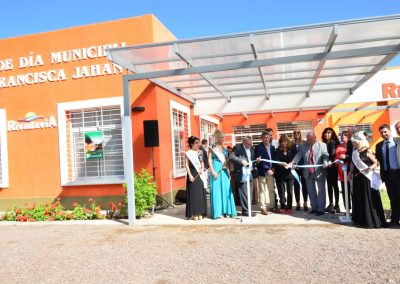 """Se Inauguró el Centro de Día """"Doña Francisca Jahan"""""""