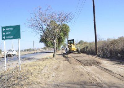 Continúa la construcción de ciclovía de calle Falucho