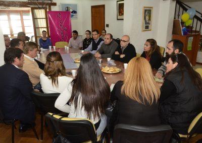 Jornada entre Bomberos provinciales y municipios