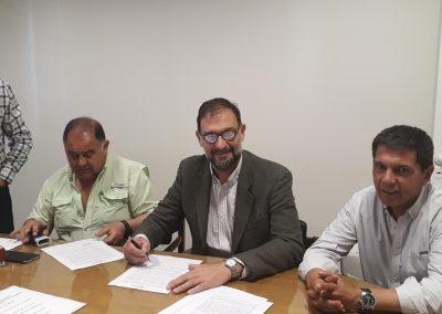 Se firmó contrato para Barrio Jesús Obrero en Rivadavia