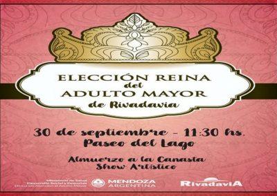 Elección de la reina del Adulto Mayor en Rivadavia
