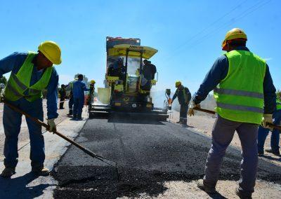 Comenzaron las obras de reencarpetado asfáltico en calle Galigniana