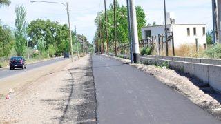 Ciclovía Calle Falucho