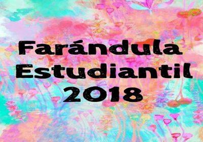 farandula estudiantil 2018