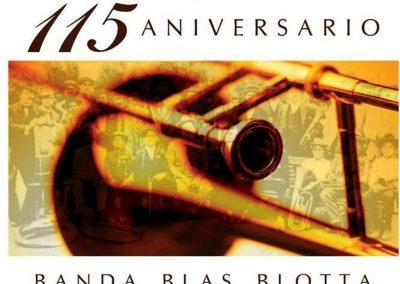 Gran festejo por los 115 años de la Banda Blas Blotta