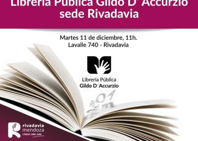 Nueva Librería Pública en Rivadavia