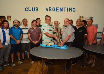 Electrobomba para el Club Argentino de Los Campamentos