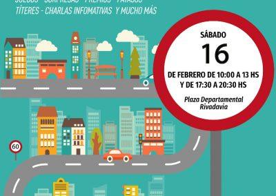 Ciudad Vial móvil Federal en Rivadavia