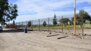 Reconstrucción de Perímetro Polideportivo