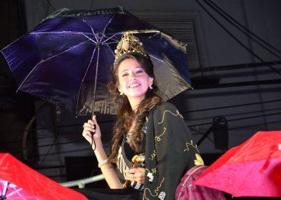 La lluvia y el color protagonistas de la Vía Blanca y Carrusel