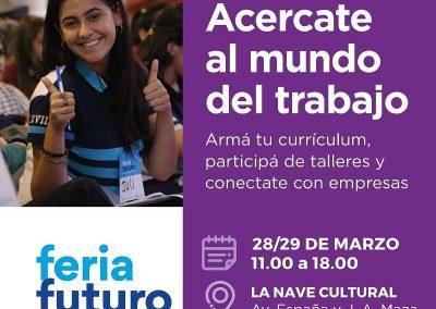 Inscripciones para participar de la Feria Futuro Empleo