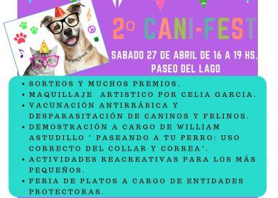 Programa Pistre y II Cani Fest