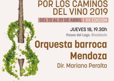 Rivadavia disfrutará de Música Clásica por los Caminos del Vino