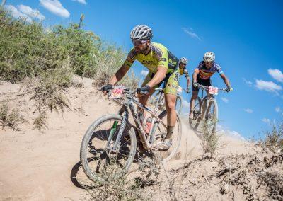 Emocionante carrera de Rivadavia Bike Fest