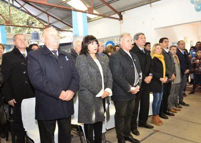 Acto en homenaje a la Revolución de Mayo en Rivadavia
