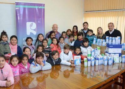Visita de alumnos de la Escuela  José Miguel Pérez de Costa Anzorena.