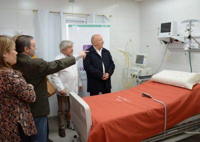 Fue modernizada la Sala de Shock Room del Hospital Saporiti