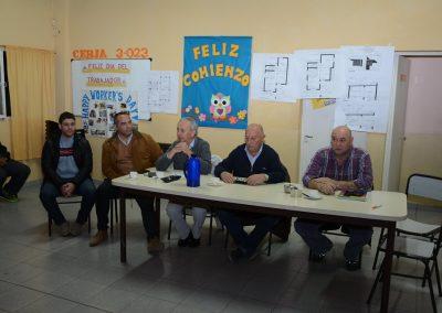 Reunión por 74 viviendas en Santa María de Oro