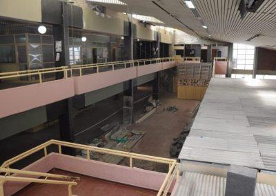 Continúan los refuerzos estructurales en la Escuela Humberto Tolosa
