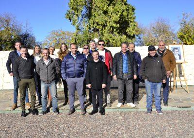 Se realizó acto por el Día del Periodista en Rivadavia