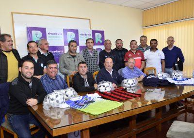 Subsidio para clubes de la Liga Rivadaviense
