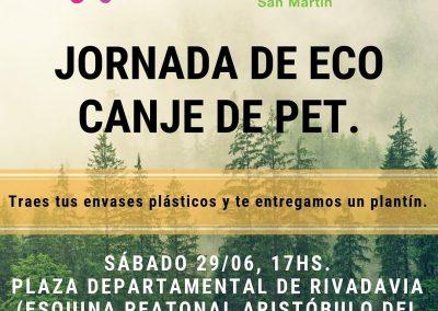 Jornada de Eco-Canje de Pet