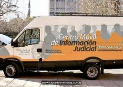 Rivadavia recibe al Centro Móvil Judicial