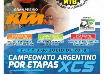 Rivadavia sede de la 5ª edición de la Vuelta de Mendoza por Etapas MTB