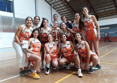 El básquet femenino se quedó con la Copa Invierno en San Rafael