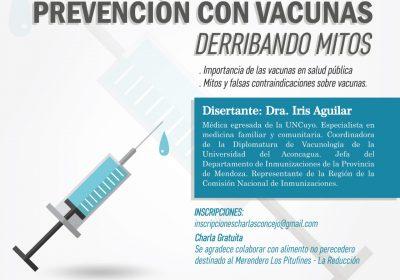 charla contra vacunas