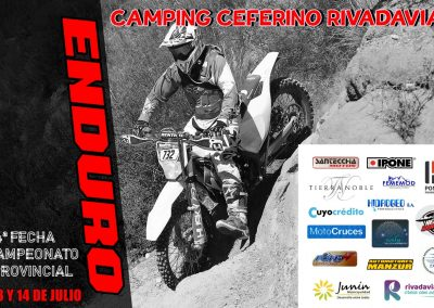 Se disputa la 4º fecha del Campeonato Provincial de Enduro