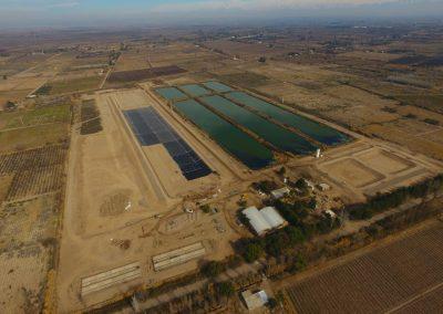 Continúan los trabajos en la Planta Depuradora de Rivadavia