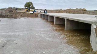 Construcción del Puente en Santa María de Oro
