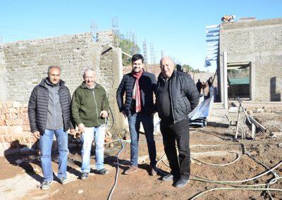 Avance de obras en Escuela de Tittarelli