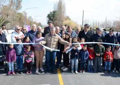 Fue Inaugurada la Ruta Provincial 62 en Rivadavia