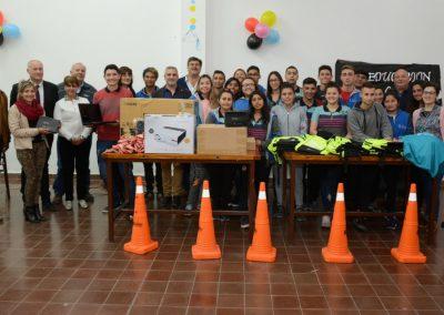 """Primer premio a la Escuela 4-096 """"Mario A. Sánchez"""" de Rivadavia"""